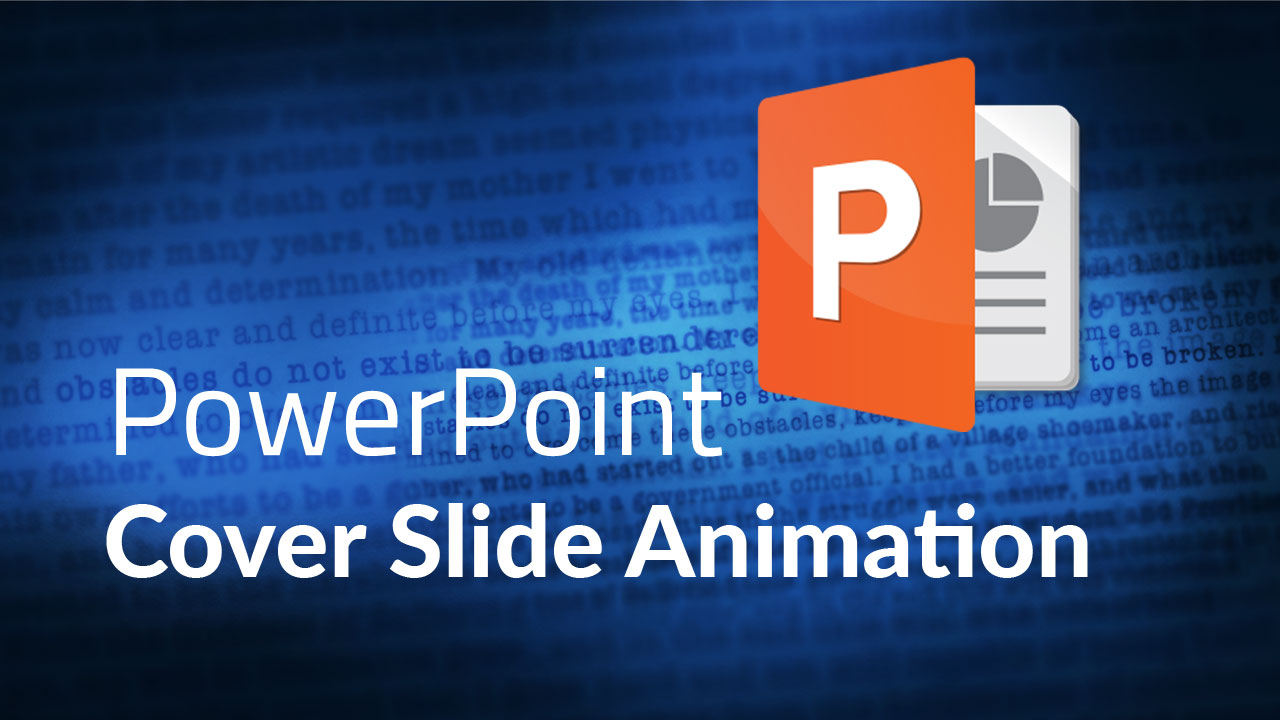 How To Animate First Page In Powerpoint Step By Step
