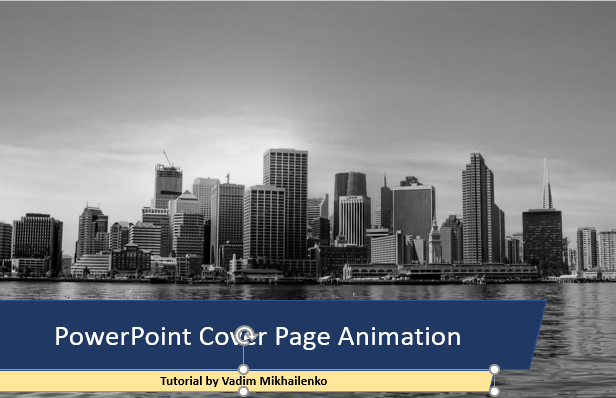 Animate PowerPoint Slide Tutorial