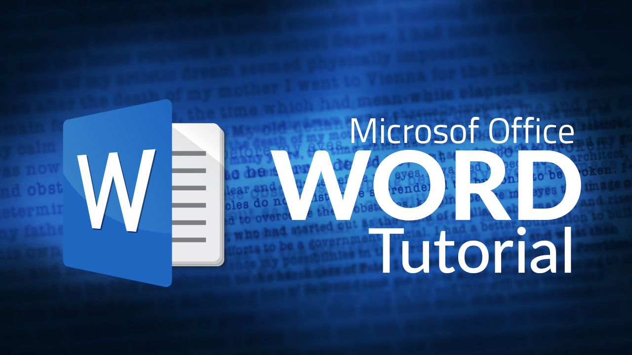 Microsoft Word for Absolute Beginners - Quick Overview Tutorial
