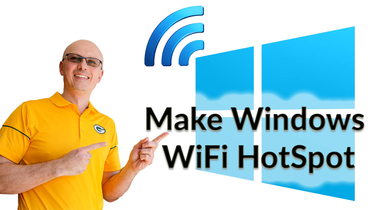How to turn your Windows 10 Computer into WiFi HotSpot