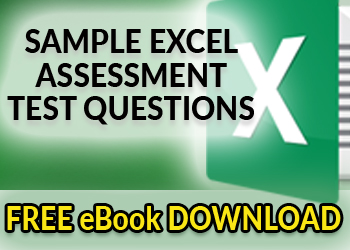 Download Sample Excel Assessment Test Questions PDF Ebook