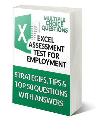 Ebook: Top 50 Excel Assessment Test Questions with Answers