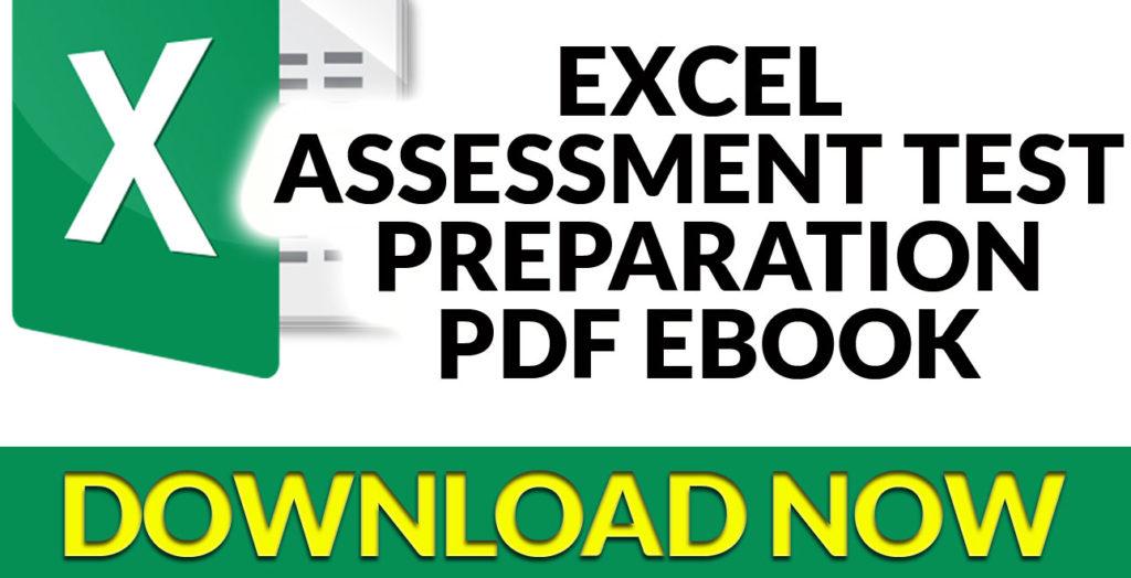 Excel Assessment Test Preparation Ebook Download