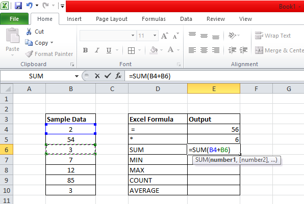Excel Functions