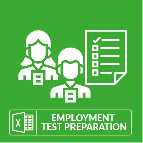 Excel Employment Test Preparation