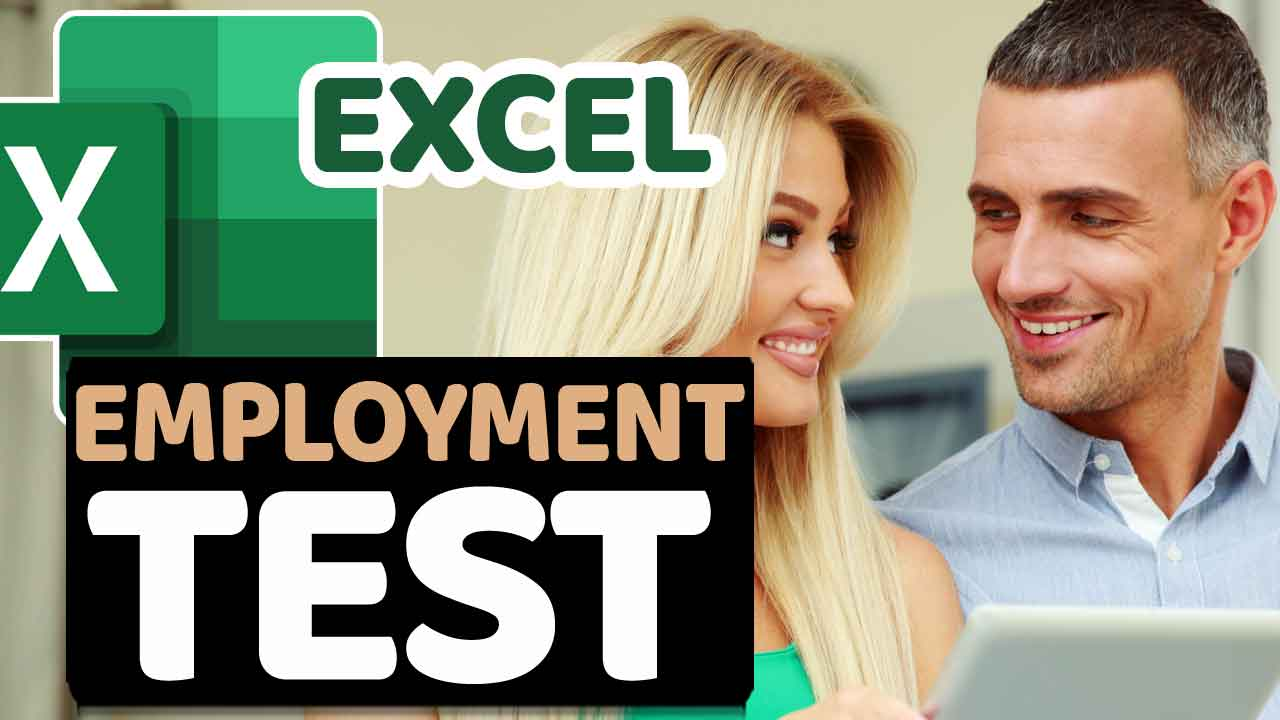 Excel Pre-Employment Test