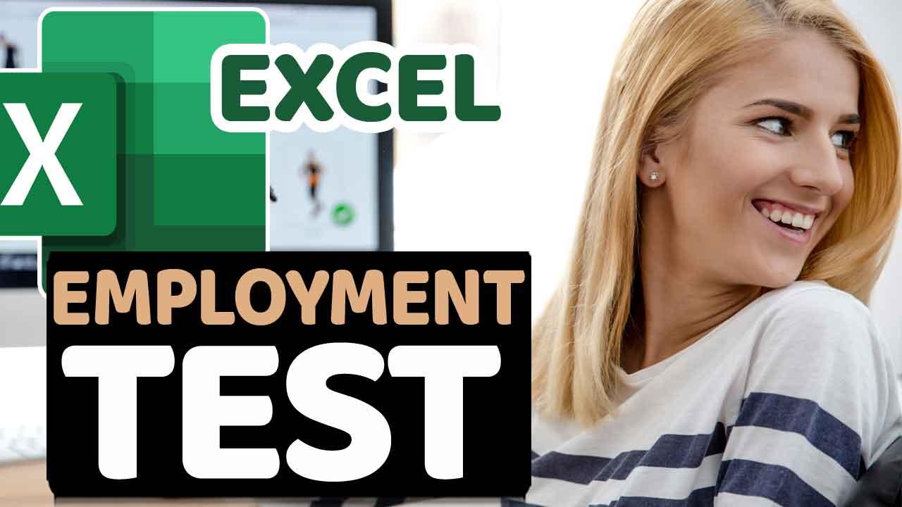 Basic Excel Skills Test