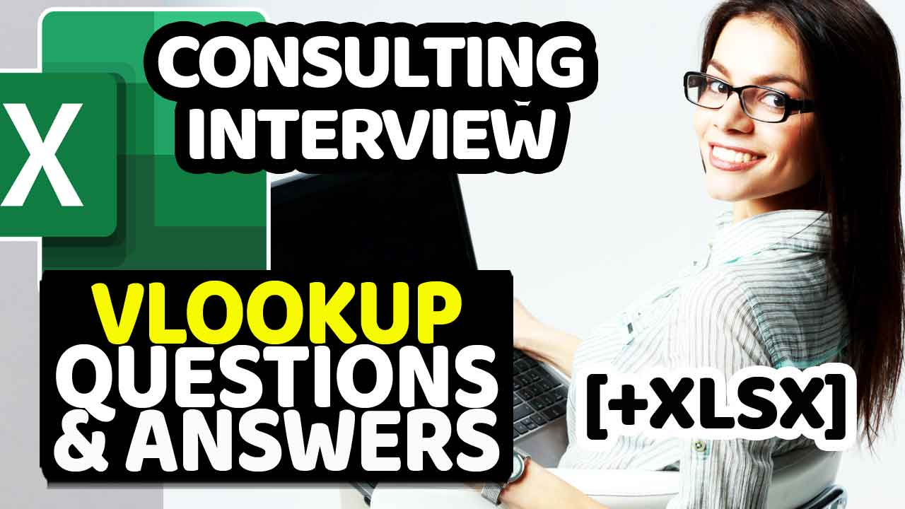 Excel Consulting Interview VLOOKUP Questions And Answers