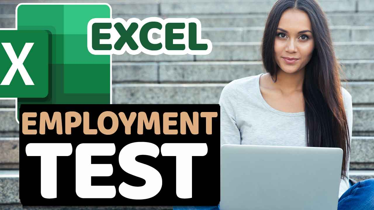 Excel Employment Test Answers