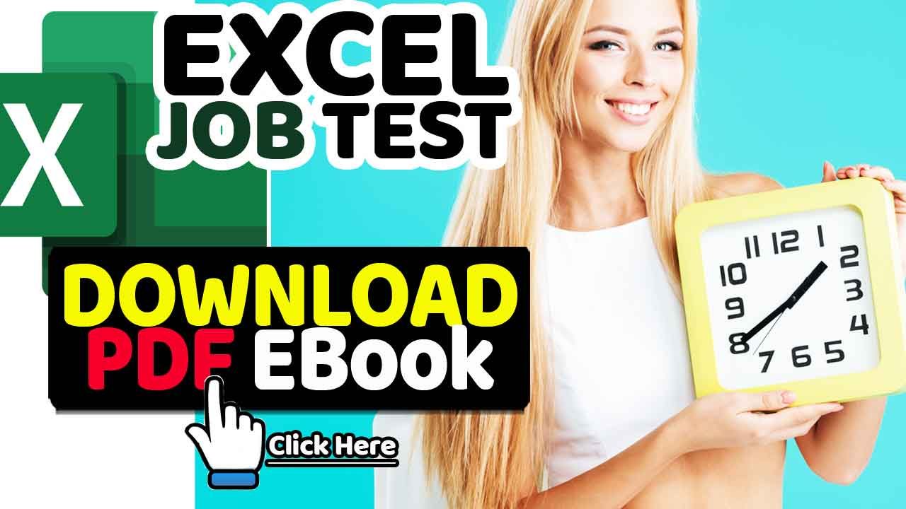 Excel Assessment Test for Employment PDF EBook