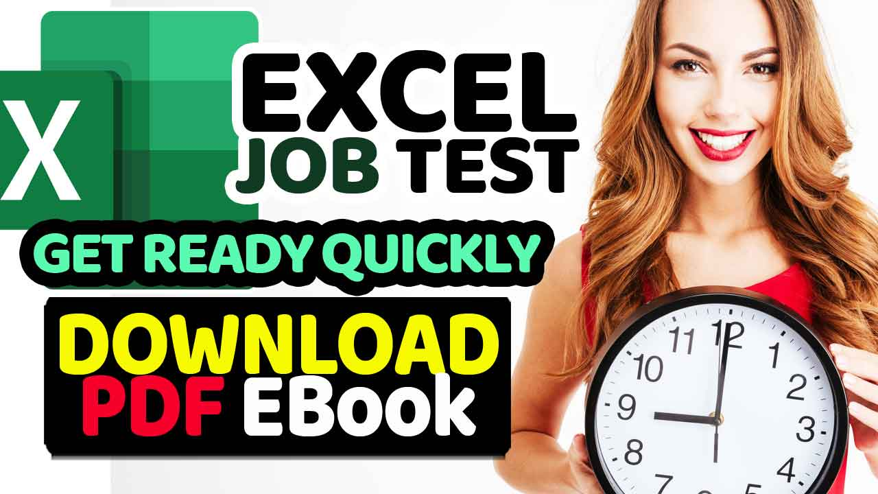 Excel Interview & Excel Test for Employment PDF EBook
