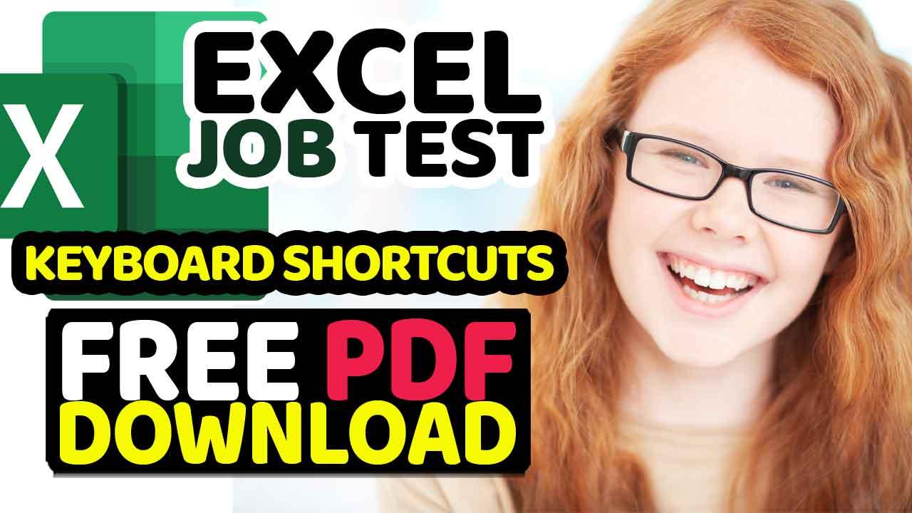 Download Free Excel Keyboard Shortcuts PDF Ebook