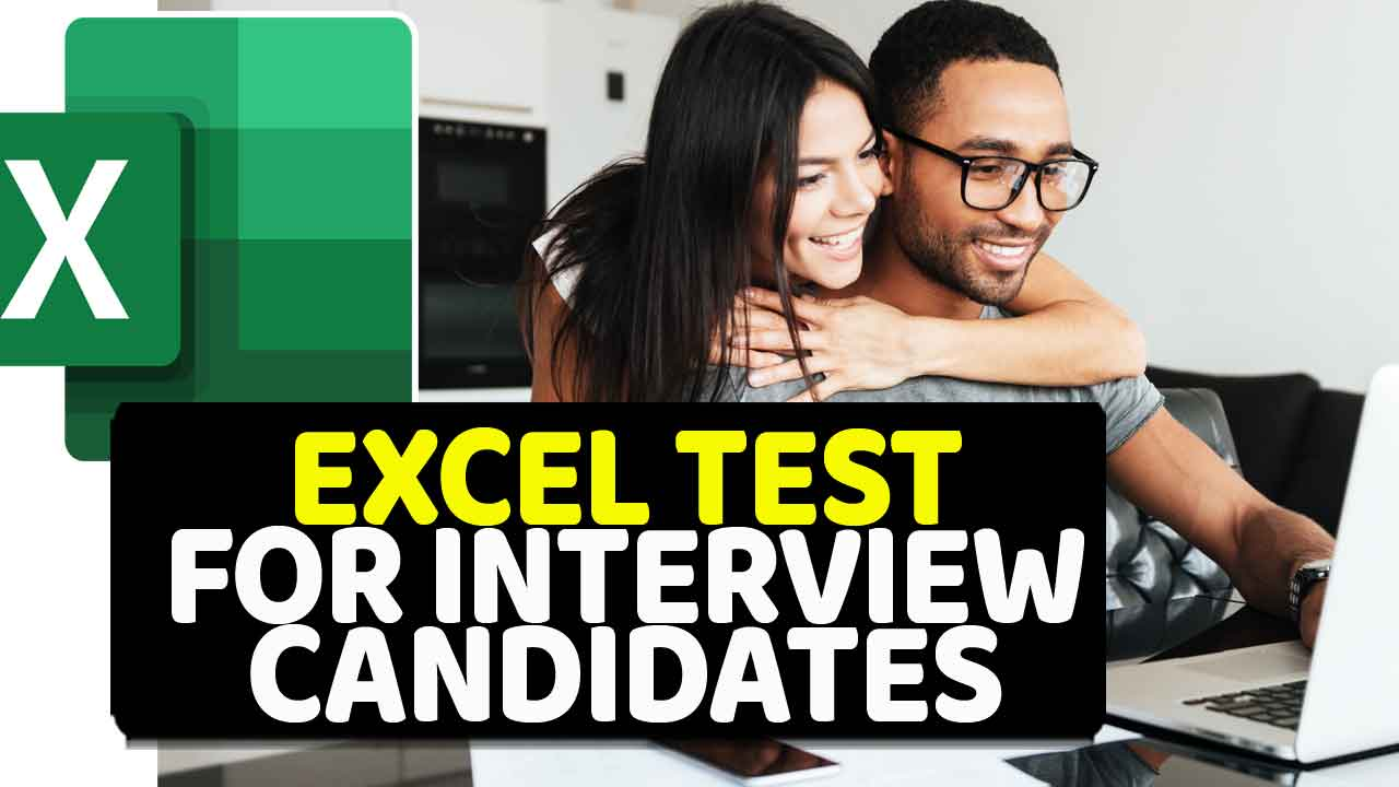 Excel Test for Interview Candidates