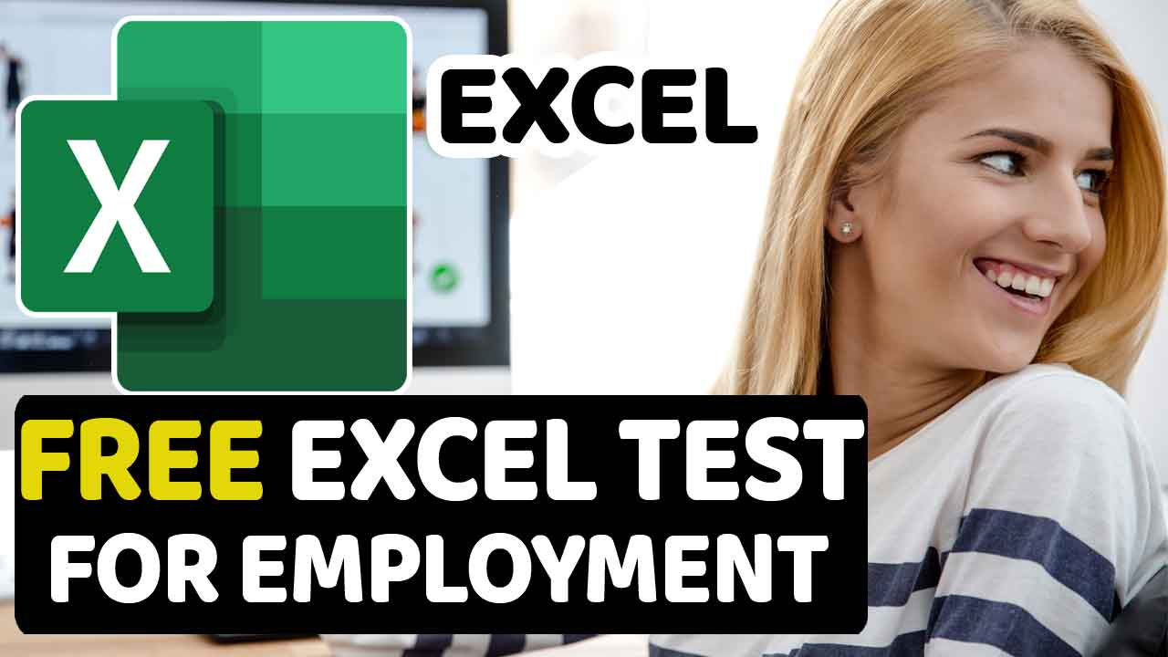 Free Excel Test For Employment
