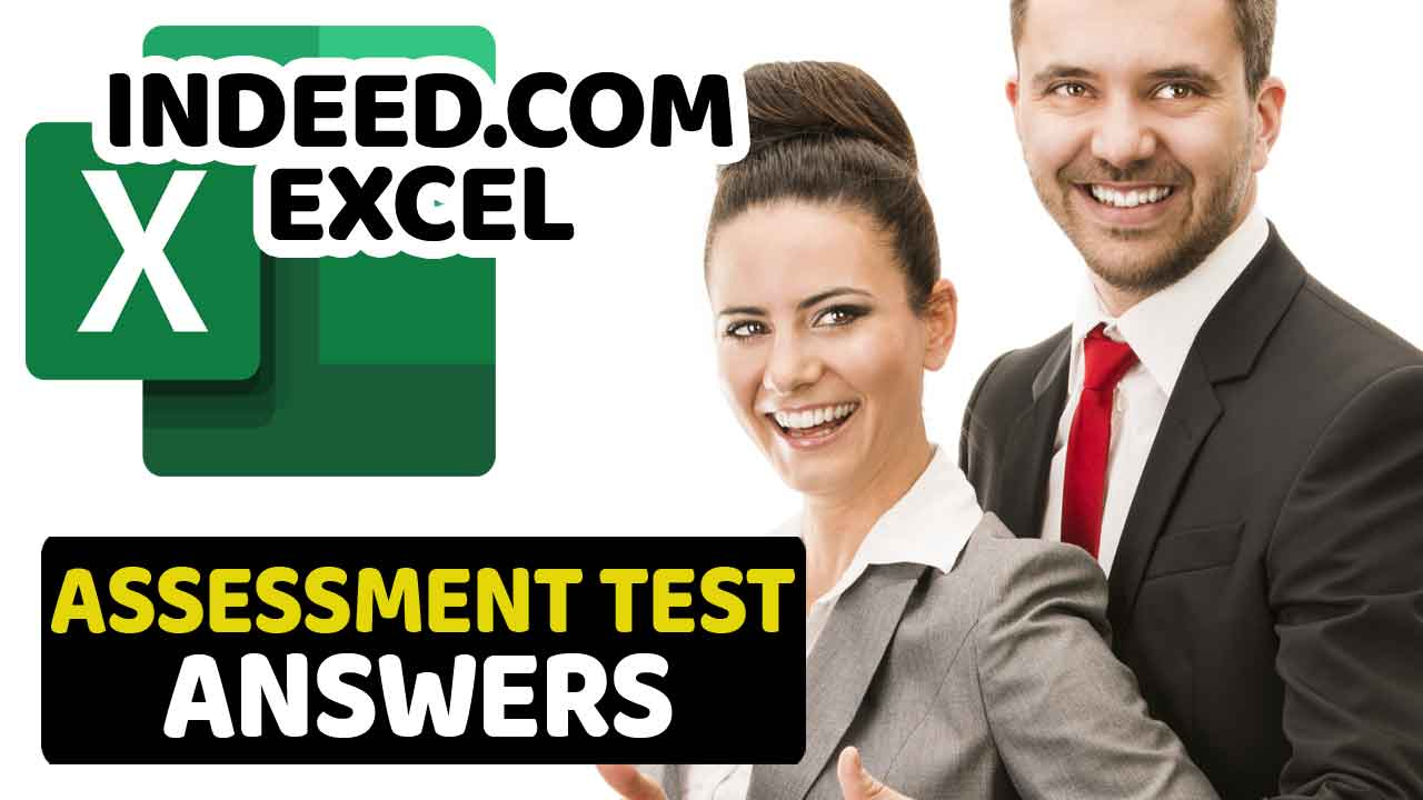 Indeed Excel Assessment Answers