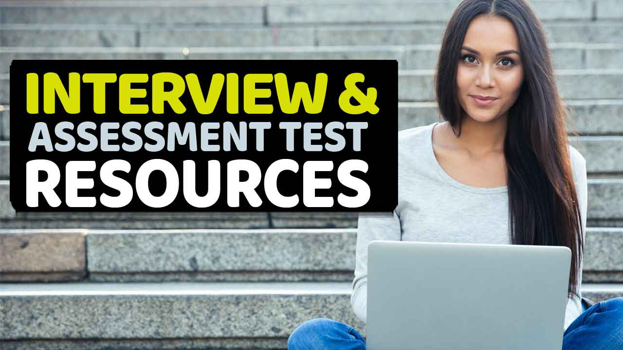 Interview and Assessment Test Preparation Resources