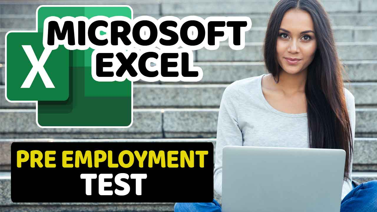 Microsoft Excel Pre Employment Test