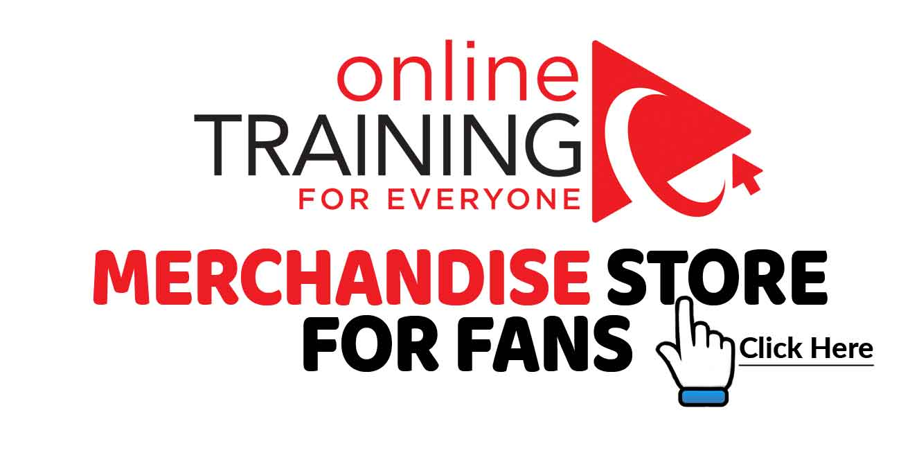 Online Training for Everyone - Merchandise Store