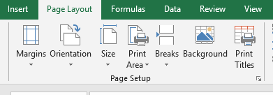 How to apply Header or footer on the page which will be used in printing?