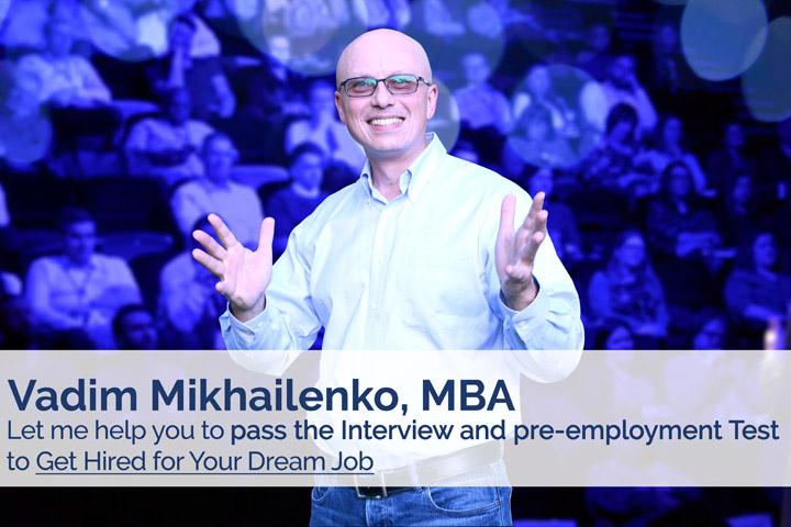 Vadim Mikhailenko, MBA
