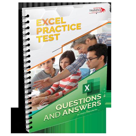 Excel Practice Test - PDF Download