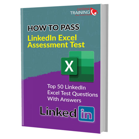 LinkedIn Excel Quiz/Test Preparation Guide