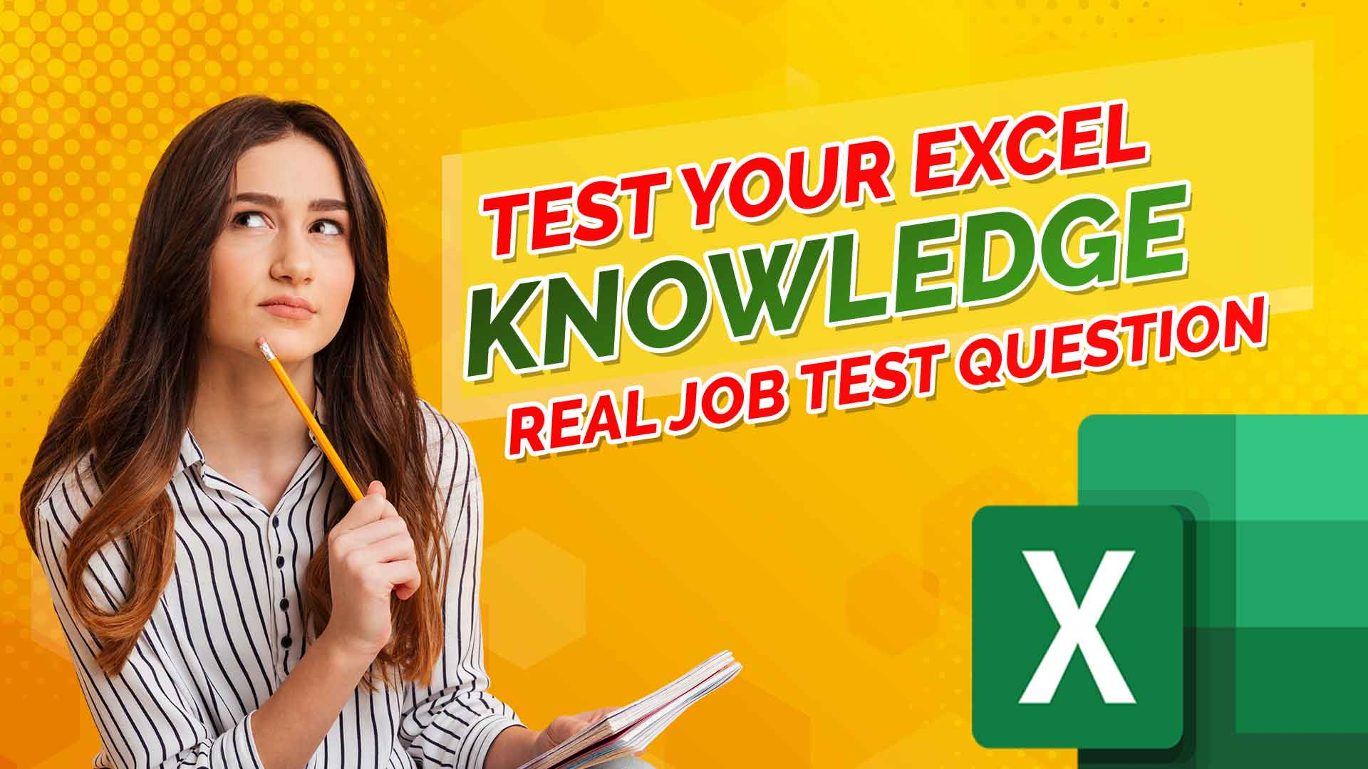 Test-Your-Excel-Knowledge---Real-Job-Test-Question-with-Answers