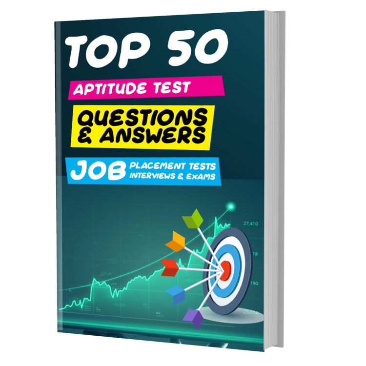 Top 50 Aptitude Test Questions and Answers [PDF Download]