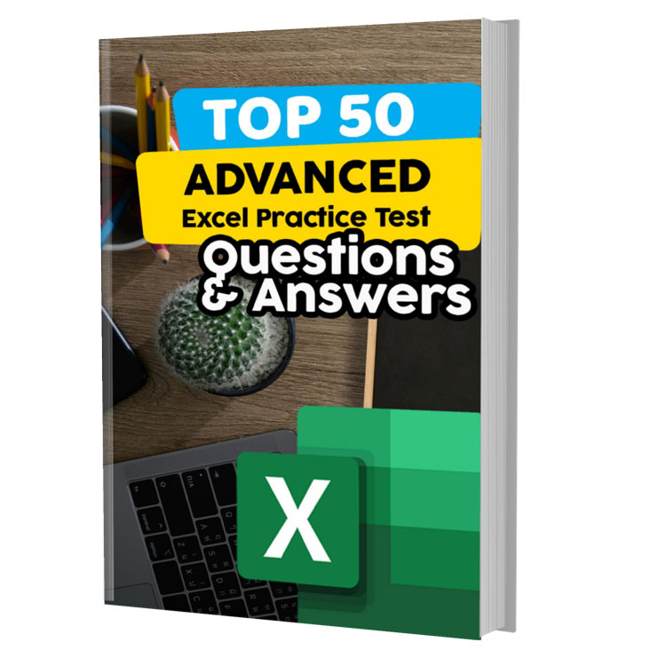 Top 50 Advanced Excel Practice Questions and Answers
