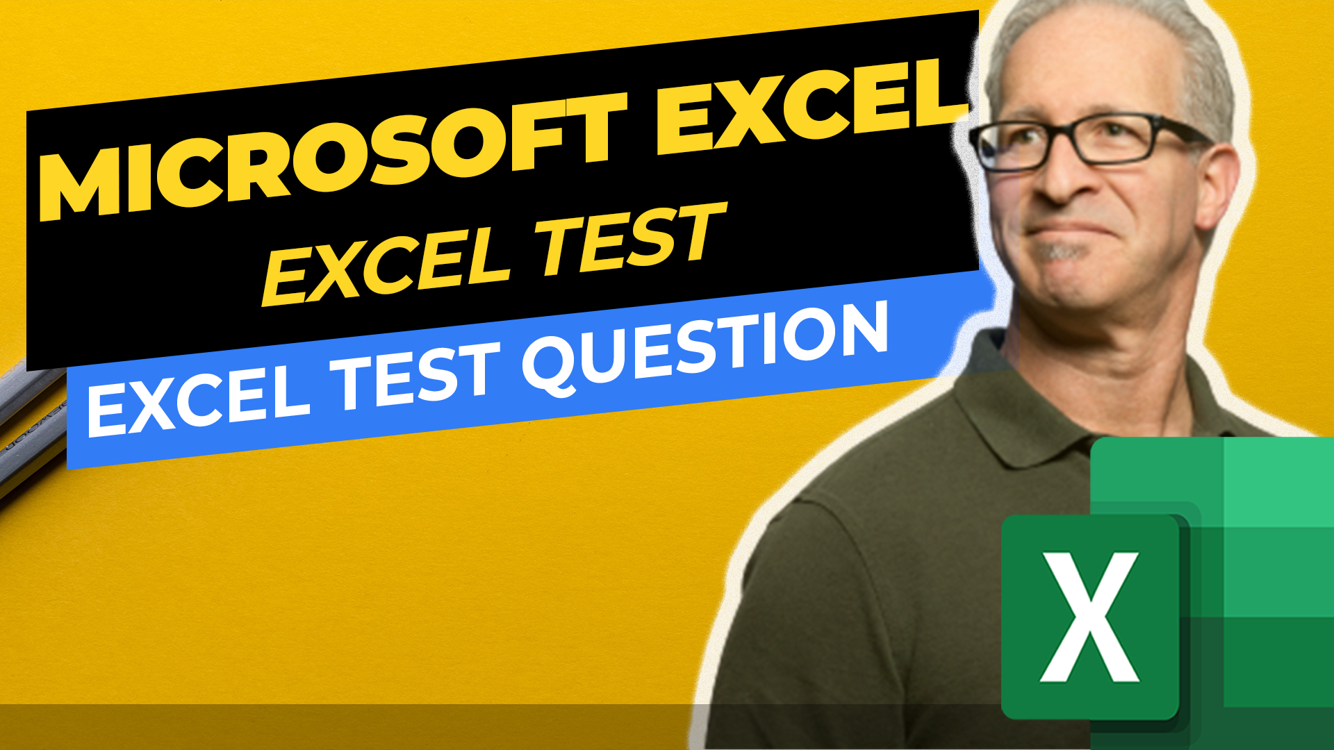Test Excel Knowledge - Excel Test Question - how to configure Excel values